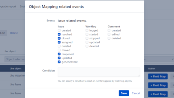 USU Service Management Connector for Jira - Event-driven
